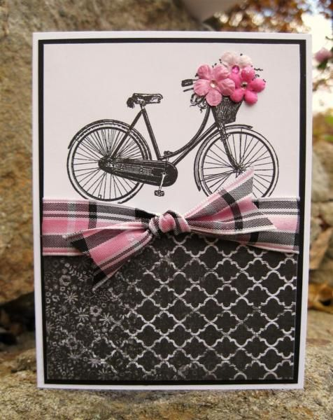 Pop of Pink by catcrazy - Cards and Paper Crafts at Splitcoaststampers
