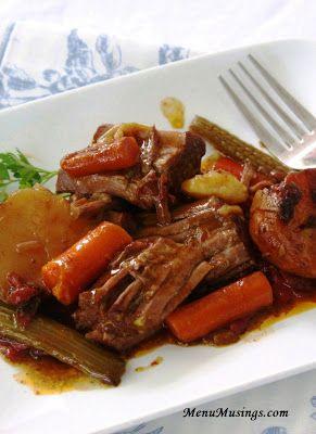 Fireworks Roast (aka Beef Pot Roast)...ah, winter comfort food!
