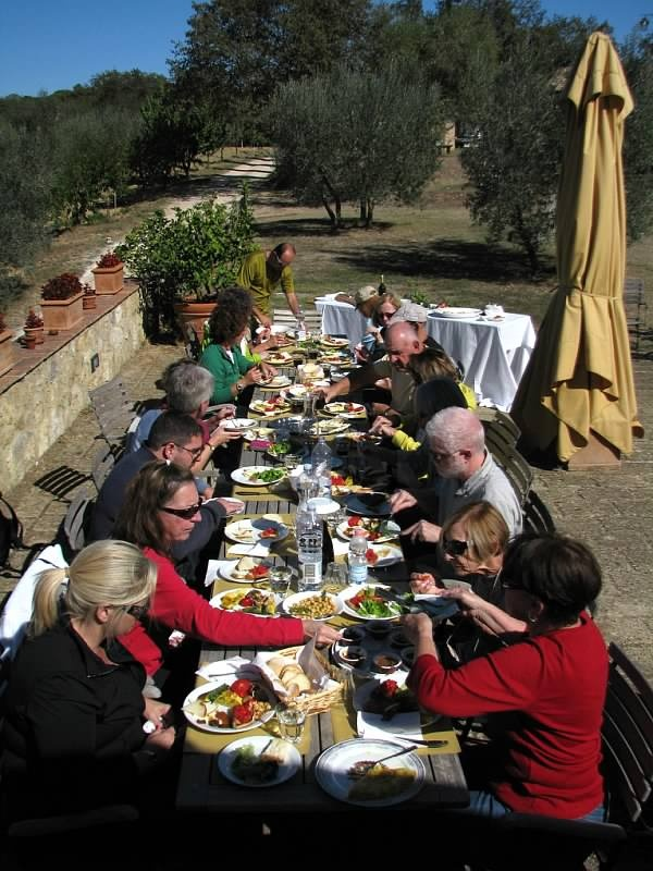 Lunch, Tuscany