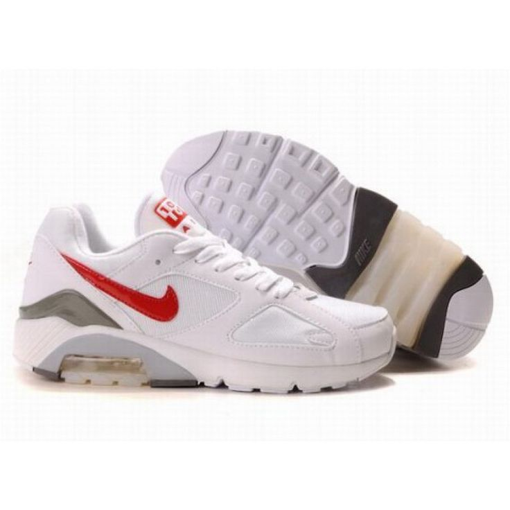 Nike Air Max 180 White Red D07001