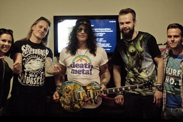 Heavy Metal Music & More  : Slash i Slash Army Poland razem dla WOŚP!