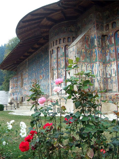 Voronet Monastery, Romania