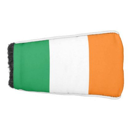 Golf Putter Cover with Flag of Ireland  $39.95  by AllFlags  - custom gift idea
