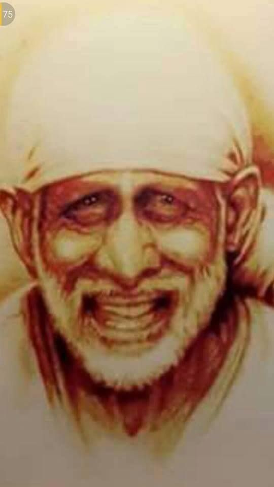 The Beautiful Smile of Our Sathguru Sri Sainath Maharaj....om sai ram