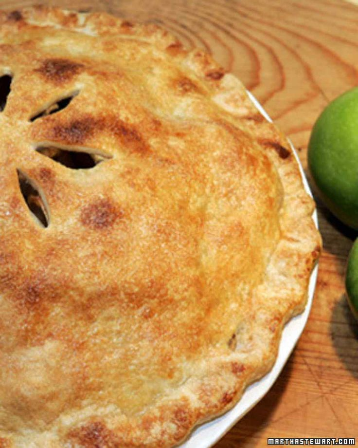 Mile-High Apple Pie  This beautiful, quintessential apple pie recipe is a favorite of Martha's.