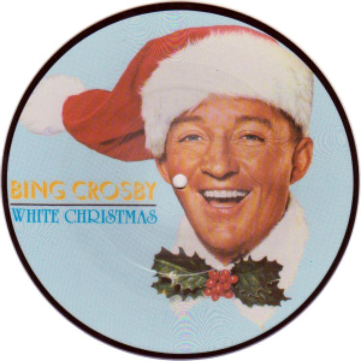 bing crosby white christmas album cover - Bing Crosby White Christmas Album