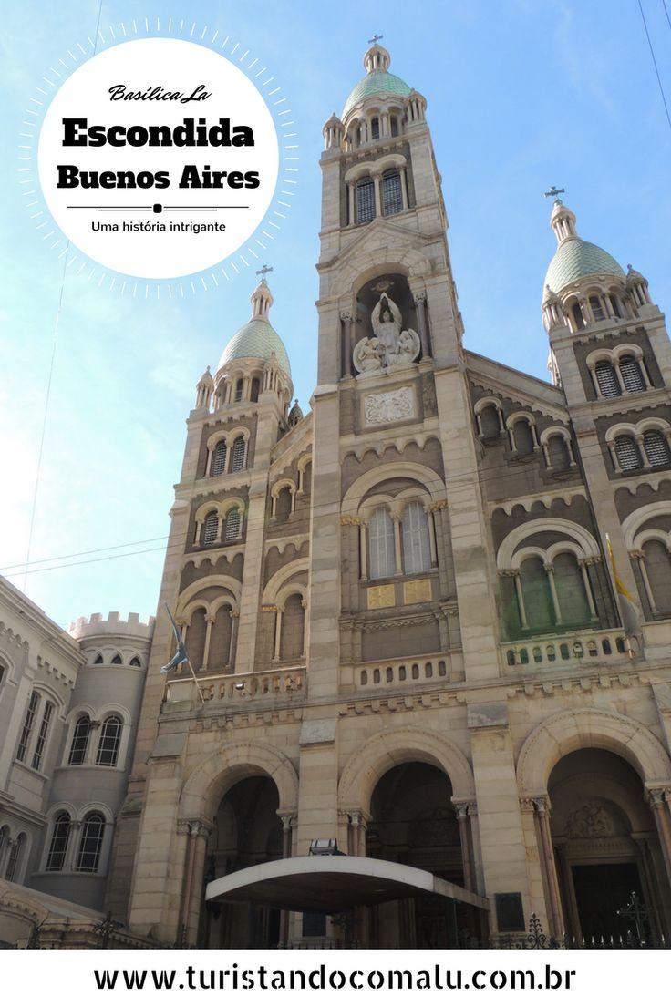 Uma história de amor e ciúmes que resultou nessa Basílica escondida belíssima em Buenos Aires.