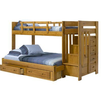 Chelsea Home Bunk Bed Configuration Twin Over