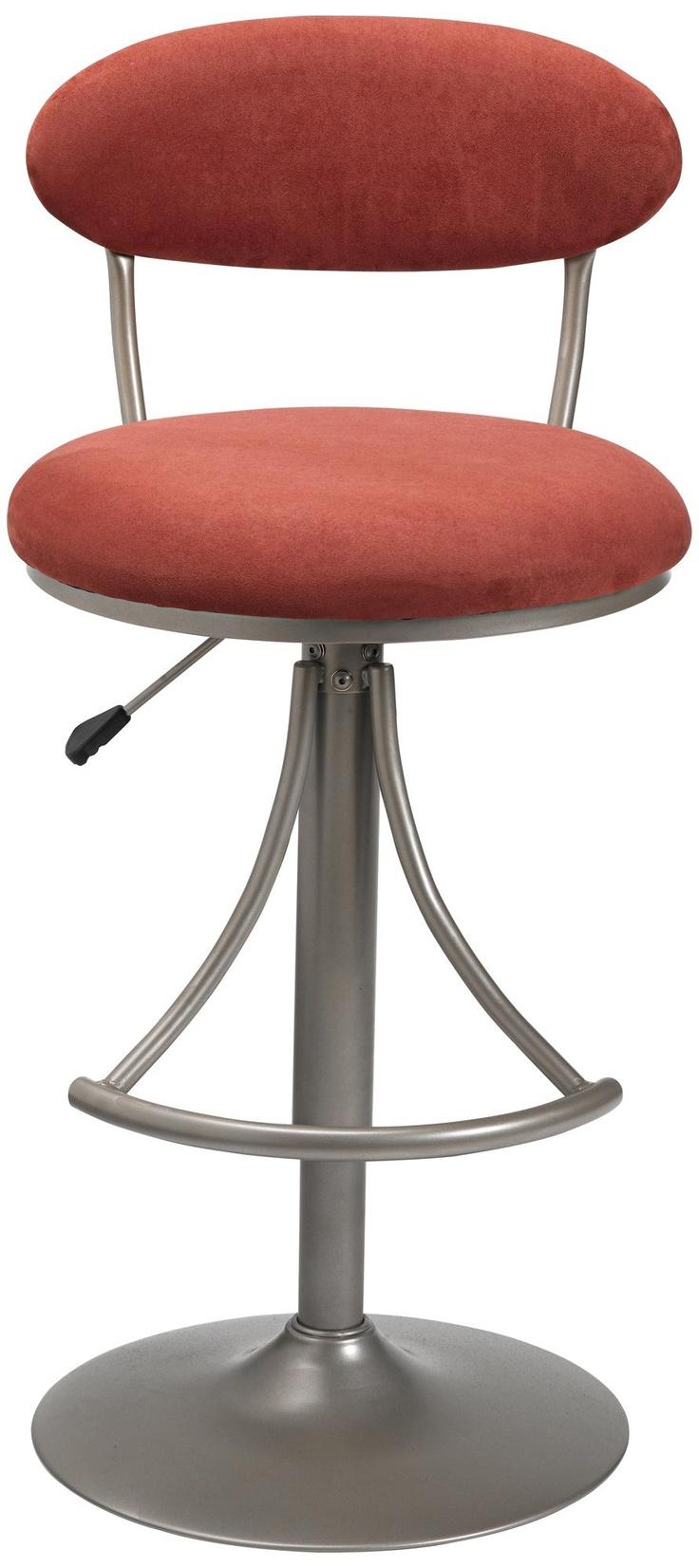 Hillsdale Venus Flame Contemporary Adjustable Bar Stool   Style # K8990