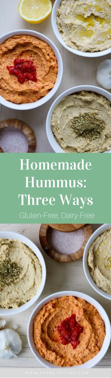 The perfect dip, homemade hummus is quick and easy to prepare; just a few ingredients into a blender and you've got a healthy ready-made snack. Plus, once you've got the basic recipe down the flavour options for homemade hummus are endless.