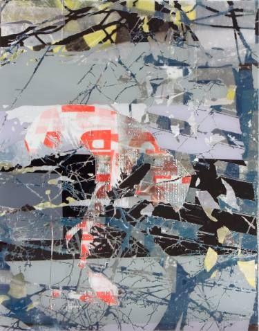 """Saatchi Art Artist Gabriele Walter; Painting, """"Die Augen weit geschlossen"""" #art"""