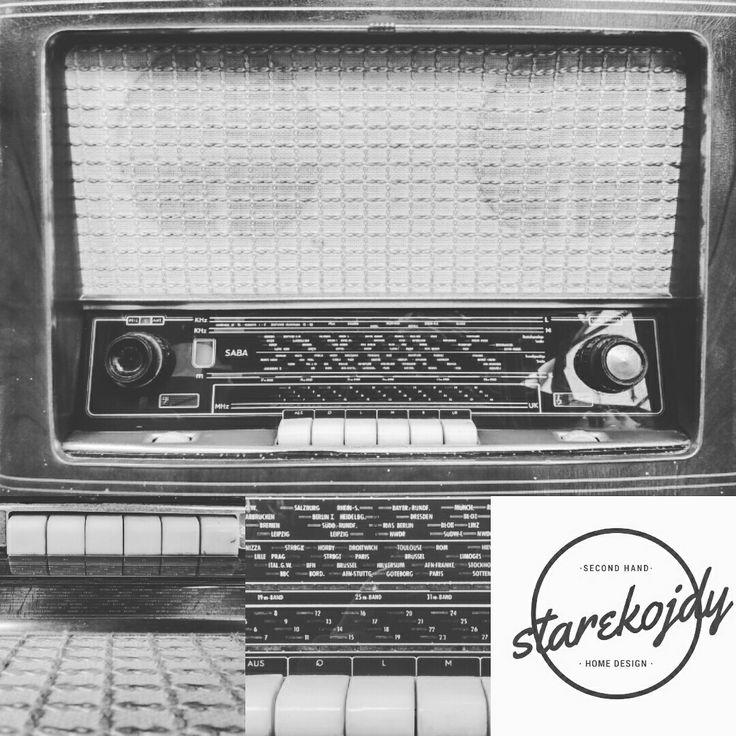 Fall in love 😍 Saba.  #starekojdy #radio #retro #vintageradio #retroradio #saba #vintageshop #vintagelife #vintagestyle #vintagegadget #stareradio #sabaradio #restore #secondhand #videgrenier #discovered #trouvaille #retrolife #retroliebe #antique #forsale