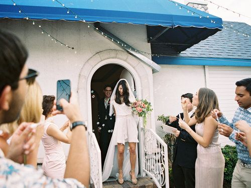 Graceland Wedding Chapel.Modern Las Vegas Wedding Downtown Vegas Elopement