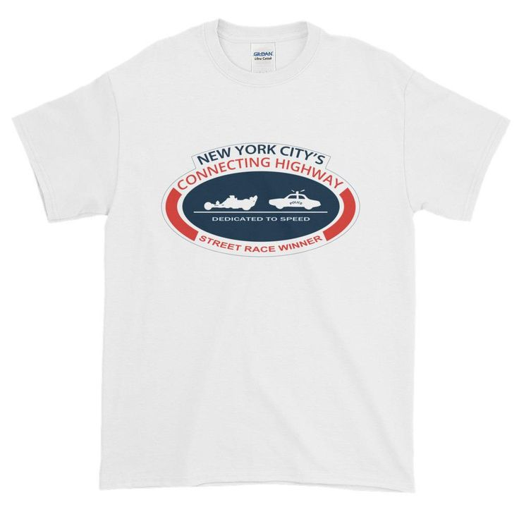 New York City's Connecting Highway Street Race Short Sleeve T-shirt