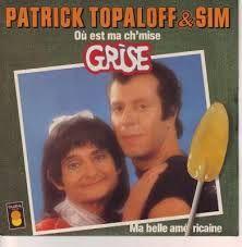 Sim et Topaloff... kitch à souhait!! - 1978