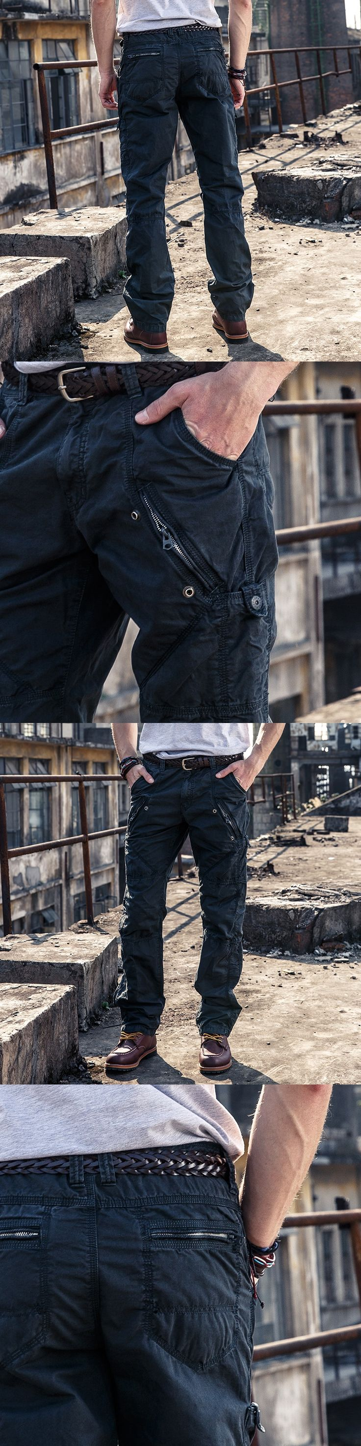 Cargo Pants military style Men Army Pocket Trousers Cotton Casual  Multi Pocket Militar Tactical Pants For Men 3258