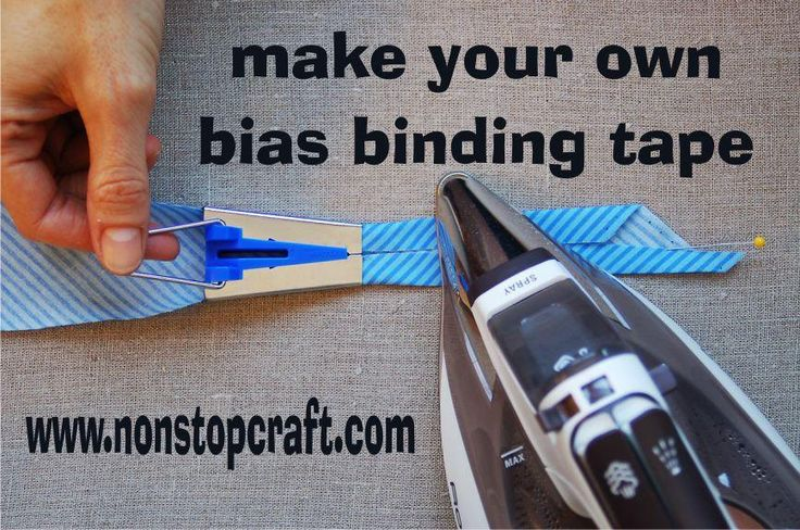 Set of 4 Fabric Bias Binding Tape Maker Tool Sets for your sewing room, easy bias tape - 6mm 12mm 18mm 25mm
