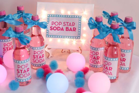 Dance Party Food and Drink Ideas {Tween and Teen Girl Party Ideas}