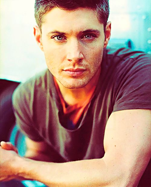 Jensen Ackles. He's so beautiful it hurts