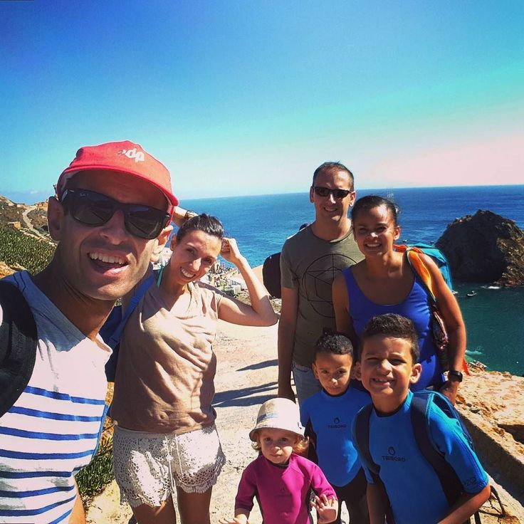 The crew Sea was rough but we made it#portugal #berlengas #island #beautiful #family #together #dayout #explore #paradise #instalike #instagood #instafeel #hike #trail #love #romantic #sea #water #ocean #selfie #follow4follow #like4like #yoga #discover #travelphotography #picoftheday #travel #pin #tw