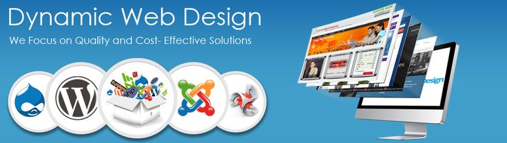 Dynamic Website Designing in Haridwar Uttarakhand A dynamic website is one whose content is regenerated every time a user visits or reloads the site. A dynamic website can contain client-side scripting or server-side scripting to generate the changing content, or a combination of both scripting types. These sites also include HTML programming for the basic structure. Most large websites are dynamic, since they are easier to maintain than static websites. http://realhappiness.co.in/