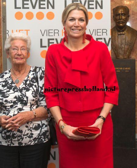 Koningin Máxima bij jubileum Stichting Vier het Leven | ModekoninginMaxima.nl