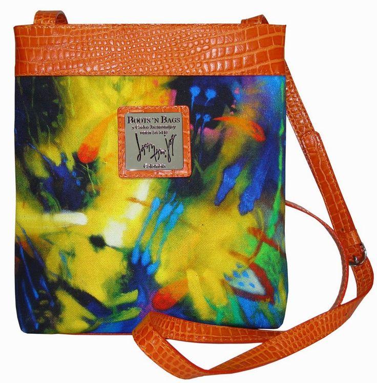 Crossbody #bag #artsy #art JACANAMIJOY PARA BOOTS 'N BAGS | The Glambition