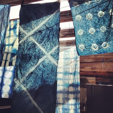 DIY Workshop: Indigo Shibori Dyeing