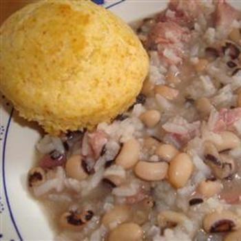 Hoppin' JohnFun Recipe, Southern Food, Southern Comforters Food, Rice Dishes, New Years Eve, Hoppin John, Southern Traditional, Lambs Shanks, Black Eye Peas