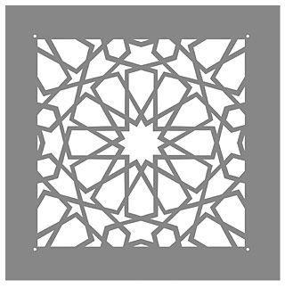 Small Classic Moroccan Stencil                                                                                                                                                                                 More