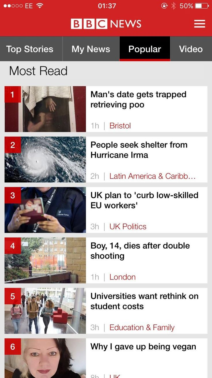 The UKs current most popular news story.. http://ift.tt/2w4zgmc