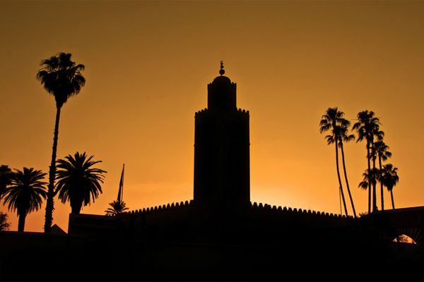 Moschea al tramonto  Fotografia di Matt Selby / My Shot  Marocco