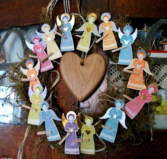Love Making Things: A Host of Recycled Angels | Angel ...
