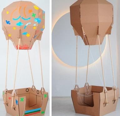 Brinquedos de papelão com muita criatividade.......