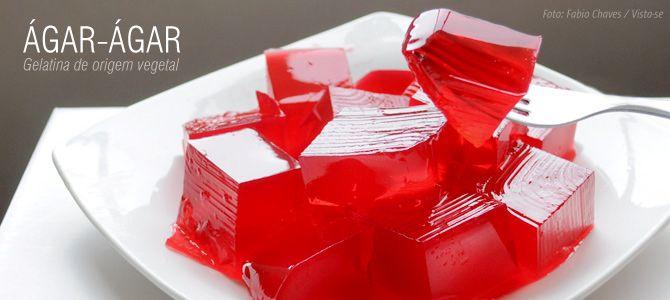 Receita básica de gelatina vegetal (ágar-ágar)