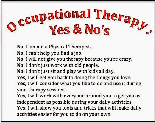 Quote About Physical Therapy: Occupational Therapist Quotes Funny Sayings. QuotesGram