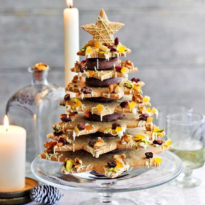 Heston Blumenthal's Christmas cookie tree centrepiece both looks and tastes fantastic. It's worth all the preparation and can be made in advance of Christmas. Try the recipe by clicking on the picture or visit Redonline.co.uk