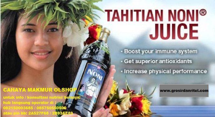 #kesehatan #nutrisi #tahitian #noni #hargamurah HARGA PROMO : Rp. 400,000  Tahitian Noni Juice adalah juice yang membantu meningkatkan sistem kekebalan tubuh, memberikan anti-oksidan tinggi untuk membantu tubuh Anda menyingkirkan radikal bebas, meningkatkan energi, dan memelihara kadar normal kolesterol. Hal ini membuat Anda mampu memiliki stamina fisik lebih baik daripada sebelumnya.
