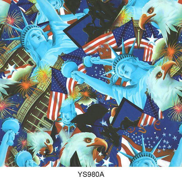Hydrographics film skull pattern YS980A