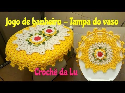 Capa de Botijão em crochê - Jogo de cozinha Joaninha - YouTube