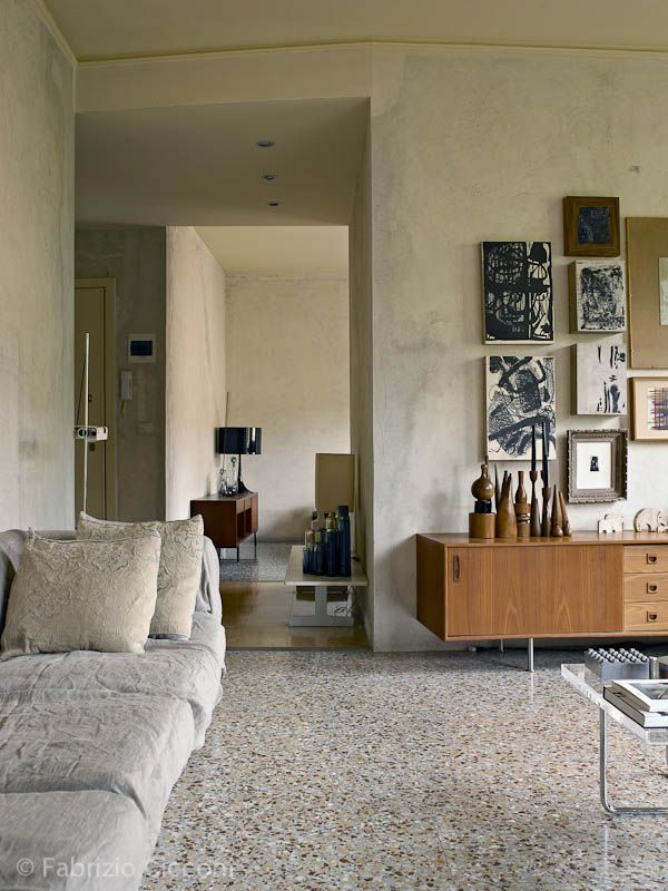 Franco Saccani house/ (c) Fabrizio Cicconi | Living room Encontrado en architecturejuston.blogspot.com