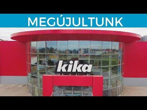 Bemutatkozik megújult soroksári áruházunk | Kika Magyarország - YouTube