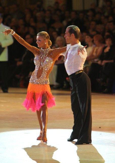 Riccardo and Yulia at Blackpool...rumba