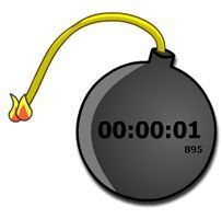 Website with different timers you can project on the screen for the class to see.  I especially like the bomb one.