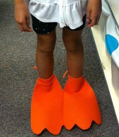 Simple Duck Costume {home made costumes}                              …