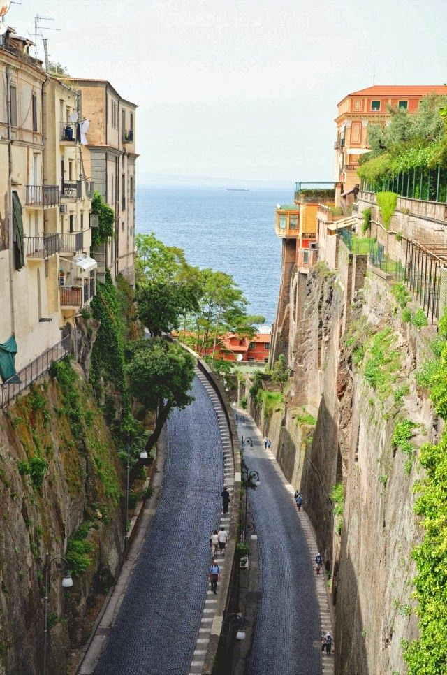 Sorrento, Italy. I stood in this same spot to take this picture. Amazing place