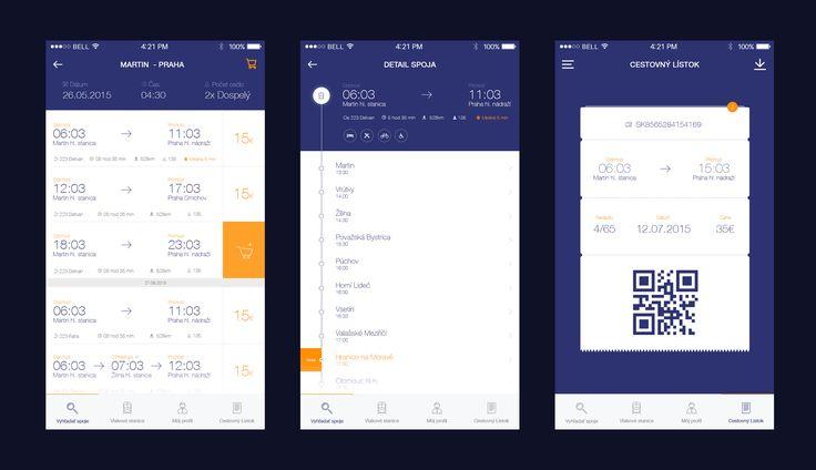 Connection Details I Ticket Zssk App by Martin Štrba
