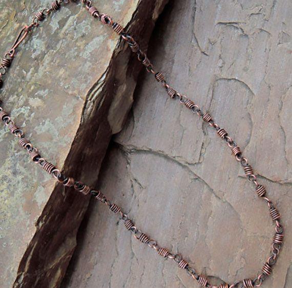 Handmade Chunky Cooper Chain unisex