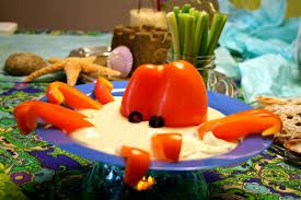 Image result for under the sea theme party food
