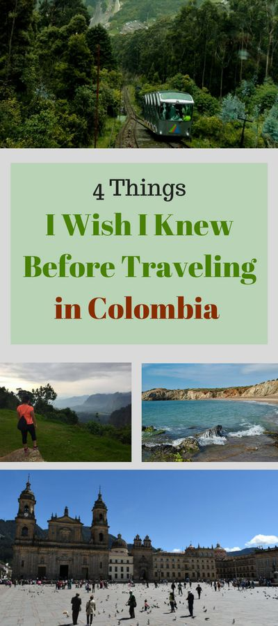 Read this before heading to Colombia so you don't make the same mistakes!